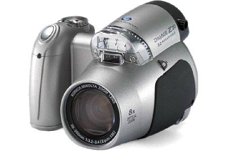 Digitalkamera Konica Minolta Dimage Z20 [Foto: Konica Minolta Europe]
