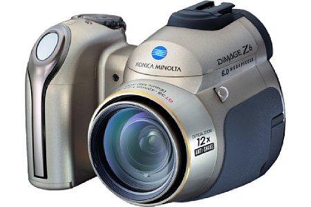 Digitalkamera Konica Minolta Dimage Z6 [Foto: Konica Minolta Europe]