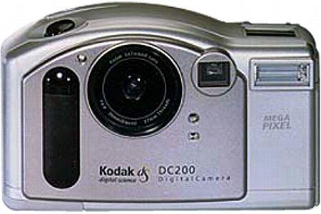 Digitalkamera Kodak DC200 [Foto: Kodak]
