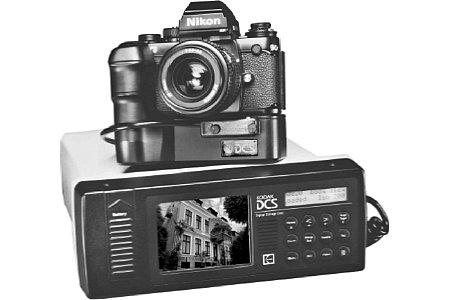 Digitalkamera Kodak DCS 100 [Foto: Kodak]