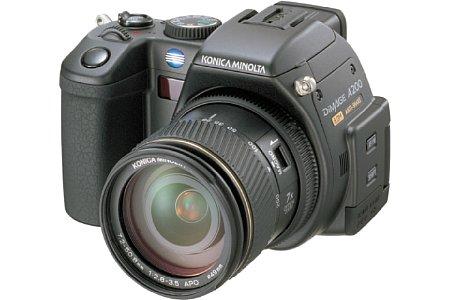 Digitalkamera Konica Minolta Dimage A200 [Foto: Konica Minolta]