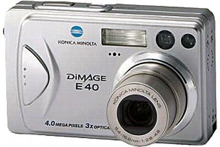 Digitalkamera Konica Minolta Dimage E40 [Foto: Konica Minolta]