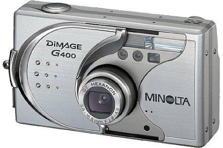 Digitalkamera Minolta Dimage G400 [Foto: Konica Minolta Europe]