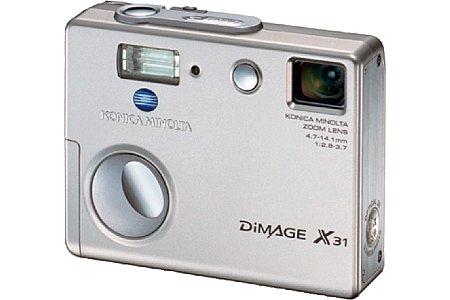 Digitalkamera Konica Minolta Dimage X31 [Foto: Konica Minolta Europe]