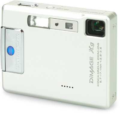 Digitalkamera Konica Minolta Dimage Xg [Foto: KonicaMinolta Europe]