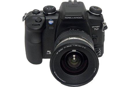 Digitalkamera Konica Minolta Dynax 7D [Foto: Konica Minolta Deutschland]