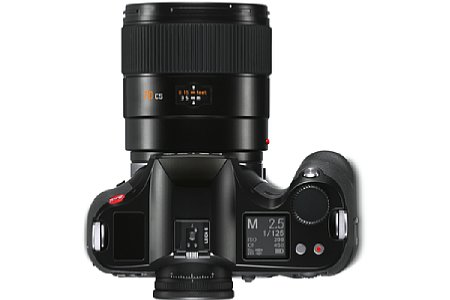 Leica S3 mit 70 mm. [Foto: Leica]