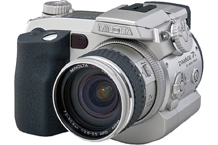 Digitalkamera Minolta Dimage 7i [Foto: Minolta]