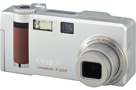 Digitalkamera Minolta Dimage F200 [Foto: Minolta Europe]