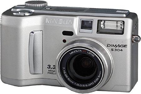 Digitalkamera Minolta Dimage S304 [Foto: Minolta]