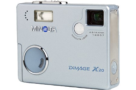 Digitalkamera Minolta Dimage X20 [Foto: Minolta Europe]