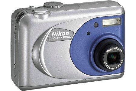 Digitalkamera Nikon Coolpix 2000 [Foto: Nikon]