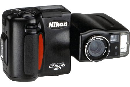 Digitalkamera Nikon Coolpix 950 [Foto: Nikon]