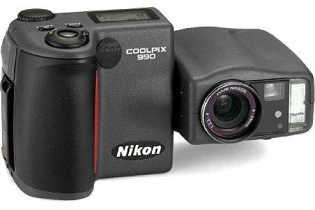 Digitalkamera Nikon Coolpix 990 [Foto: Nikon]