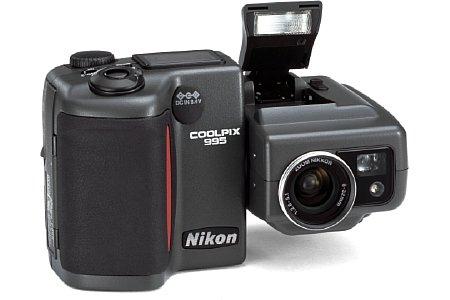 Digitalkamera Nikon Coolpix 995 [Foto: Nikon]