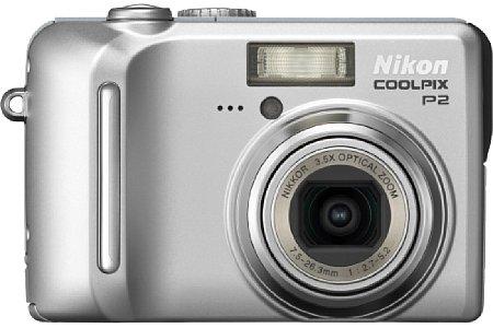 Digitalkamera Nikon Coolpix P2 [Foto: Nikon Deutschland]