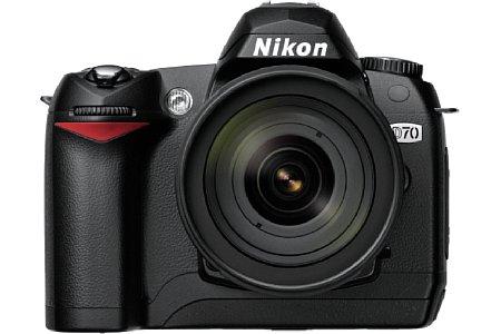 Digitalkamera nikon D70 [Foto: Nikon Deutschland]