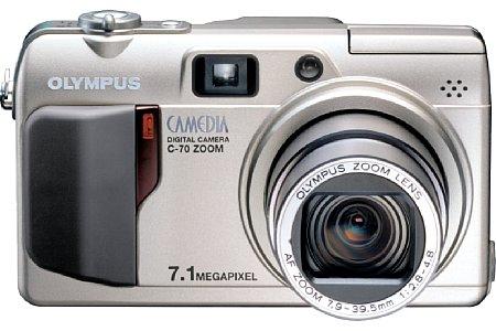Digitalkamera Olympus C-70 Zoom [Foto: Olympus Europa]