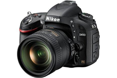 Bild Die Nikon D610 kostet als Einstieg ins Kleinbildformat weniger als 2.000 Euro. [Foto: Nikon]