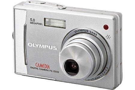 Digitalkamera Olympus FE-5500 [Foto: Olympus Europa]