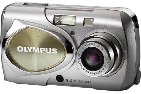 Digitalkamera Olympus mju 400 Digital [Foto: Olympus Europa]