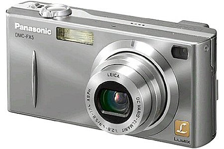 Digitalkamera Panasonic Lumix DMC-FX5 [Foto: Panasonic]