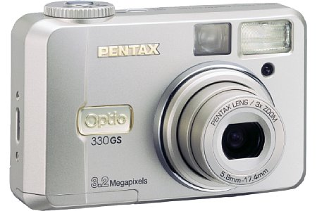 Digitalkamera Pentax Optio 330GS [Foto: Pentax]