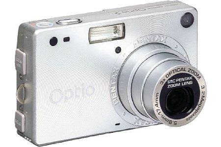 Digitalkamera Pentax Optio S [Foto: Pentax]