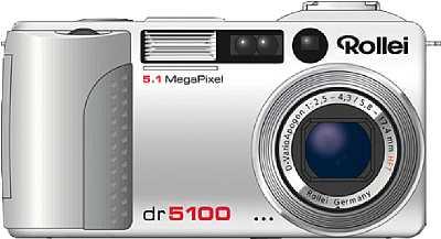 Digitalkamera Rollei dr5100 [Foto: Rollei]