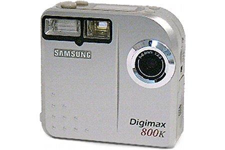 Digitalkamera Samsung Digimax 800K [Foto: Samsung]