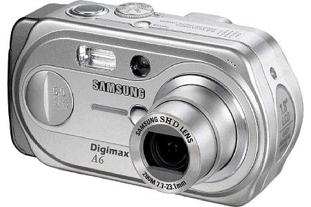 Digitalkamera Samsung Digimax A6 [Foto: Samsung Camera Deutschland]