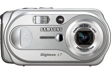 Digitalkamera Samsung Digimax A7 [Foto: Samsung Camera]