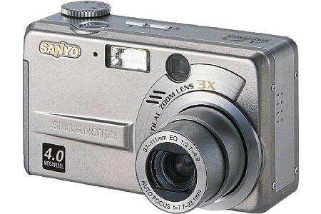 Digitalkamera Sanyo VPC-G1 [Foto: Sanyo]
