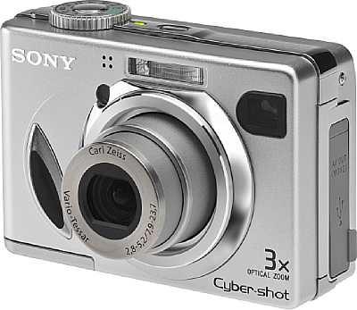 Digitalkamera Sony DSC-W7 [Foto: Sony Deutschland]