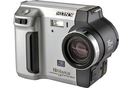 Digitalkamera Sony MVC-FD92 [Foto: Sony]