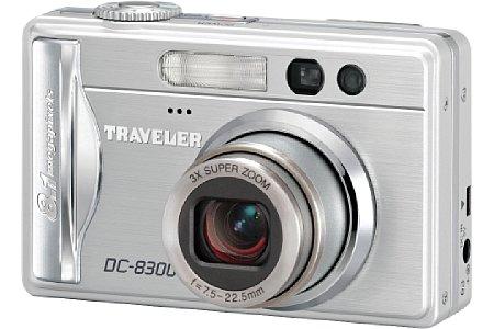 Digitalkamera Traveler DC-8300 [Foto: Supra Foto Elektronik Vertriebs GmbH]