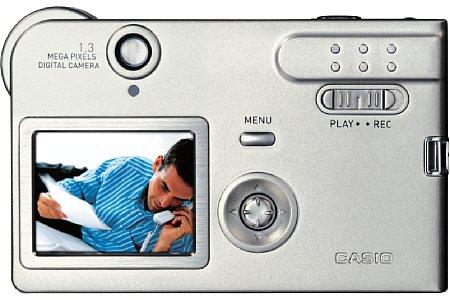 Digitalkamera Casio Exilim EX-S1 [Foto: Casio]