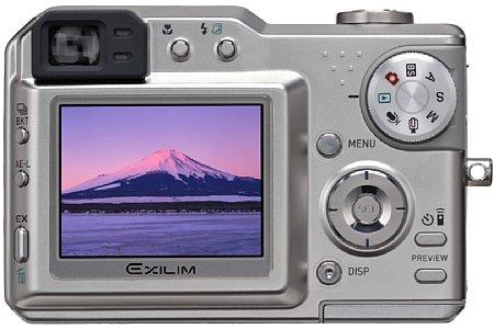 Digitalkamera Casio Exilim Pro EX-P600 [Foto: Casio]