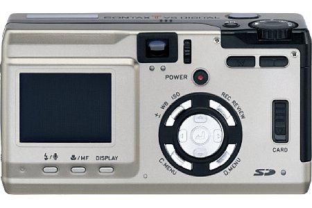 Digitalkamera Contax Tvs Digital [Foto: Yashica/Kyocera]
