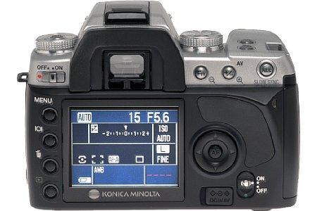 Digitalkamera Konica Minolta Dynax 5D [Foto: Konica Minolta Deutschland]