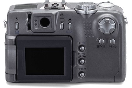 Digitalkamera Canon PowerShot G2 [Foto: MediaNord]