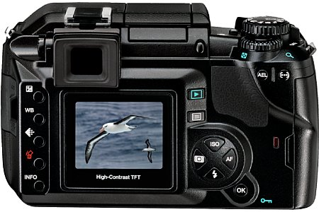 Digitalkamera Olympus E-300 [Foto: Olympus Europa]