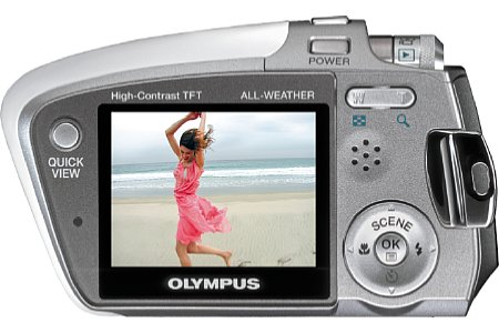 Digitalkamera Olympus mju-mini Digital [Foto: Olympus Europe]