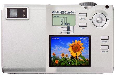 Digitalkamera Voigtländer X1 digital 2.11 [Foto: Voigtländer]