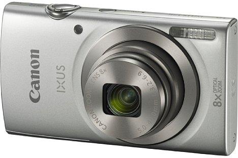 Bild Die Canon Ixus 175 ist das neue Einstiegsmodell mit Achtfachzoom (28-224 mm) ohne Bildstabilisator und 20-Megapixel-CCD inklusive HD-Videofunktion. [Foto: Canon]