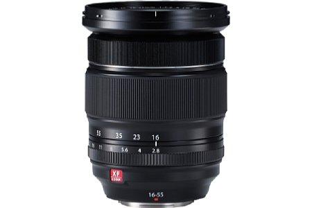 Bild Der interne Fokus des Fujifilm XF 16-55 mm F2.8 R LM WR wird von einem Twin-Linearmotor angetrieben und soll dadurch besonders schnell sein. [Foto: Fujifilm]