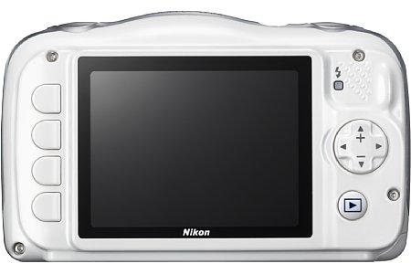 Bild Die Nikon Coolpix W100 besitzt ein einfaches Bedieninterface und einen Kindermodus. [Foto: Nikon]