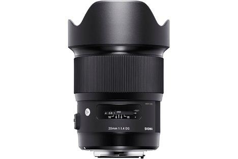 Bild Zahlreiche Spezialgläser sollen beim Sigma 20 mm 1,4 DG HSM Art für eine hohe Bildqualität sorgen. [Foto: Sigma]