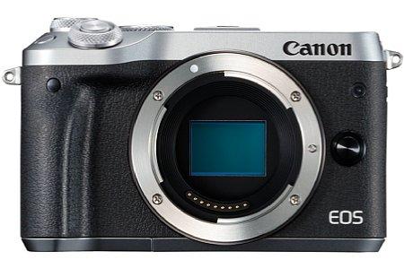 Bild Die Canon EOS M6 ist ab April 2017 nicht nur in Schwarz, sondern auch in Silber-Schwarz zu einem Preis von knapp 800 Euro erhältlich. [Foto: Canon]