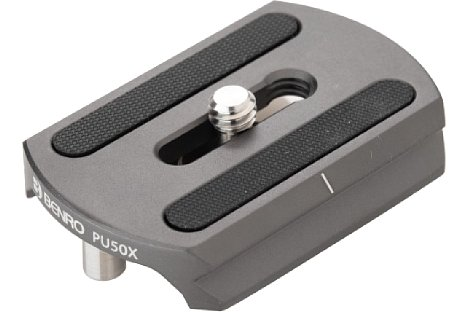 Bild Die Benro Schnellwechselplatte PU50X ist ArcaSwiss kompatibel. [Foto: Benro]